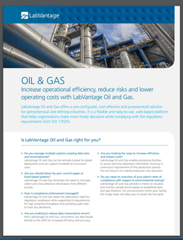 LabVantage Oil and Gas Whitepaper