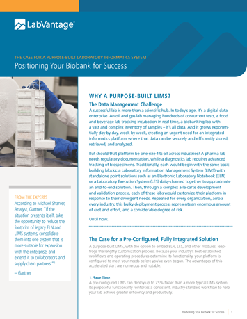 Positioning Your Biobank for Success